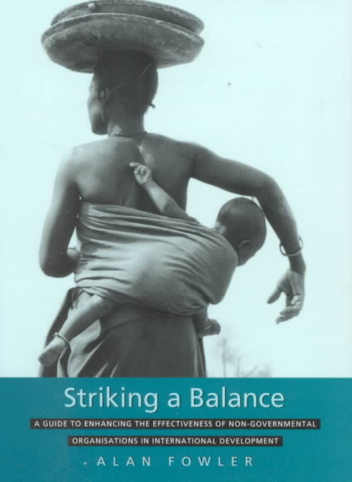 Striking a Balance By Fowler, Alan